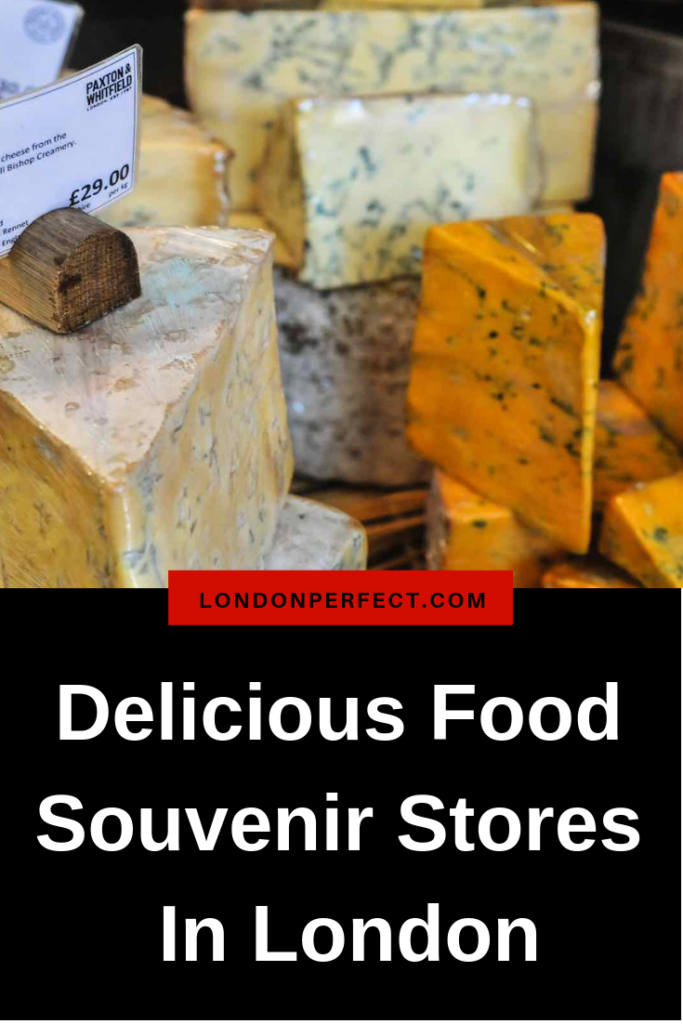 Delicious Food Souvenir Stores In London by London Perfect