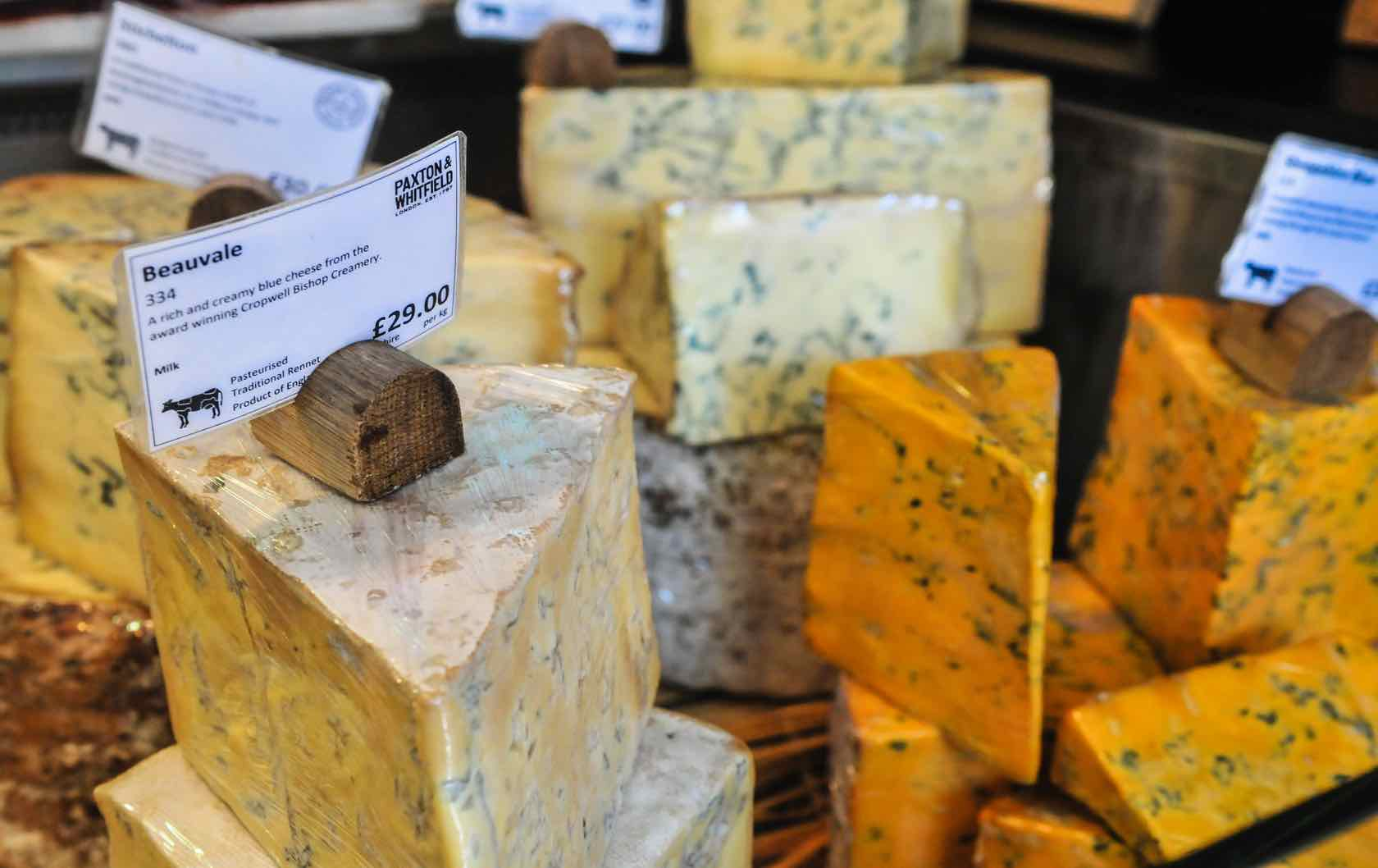 Delicious Food Souvenir Stores In London by London Perfect British Cheese