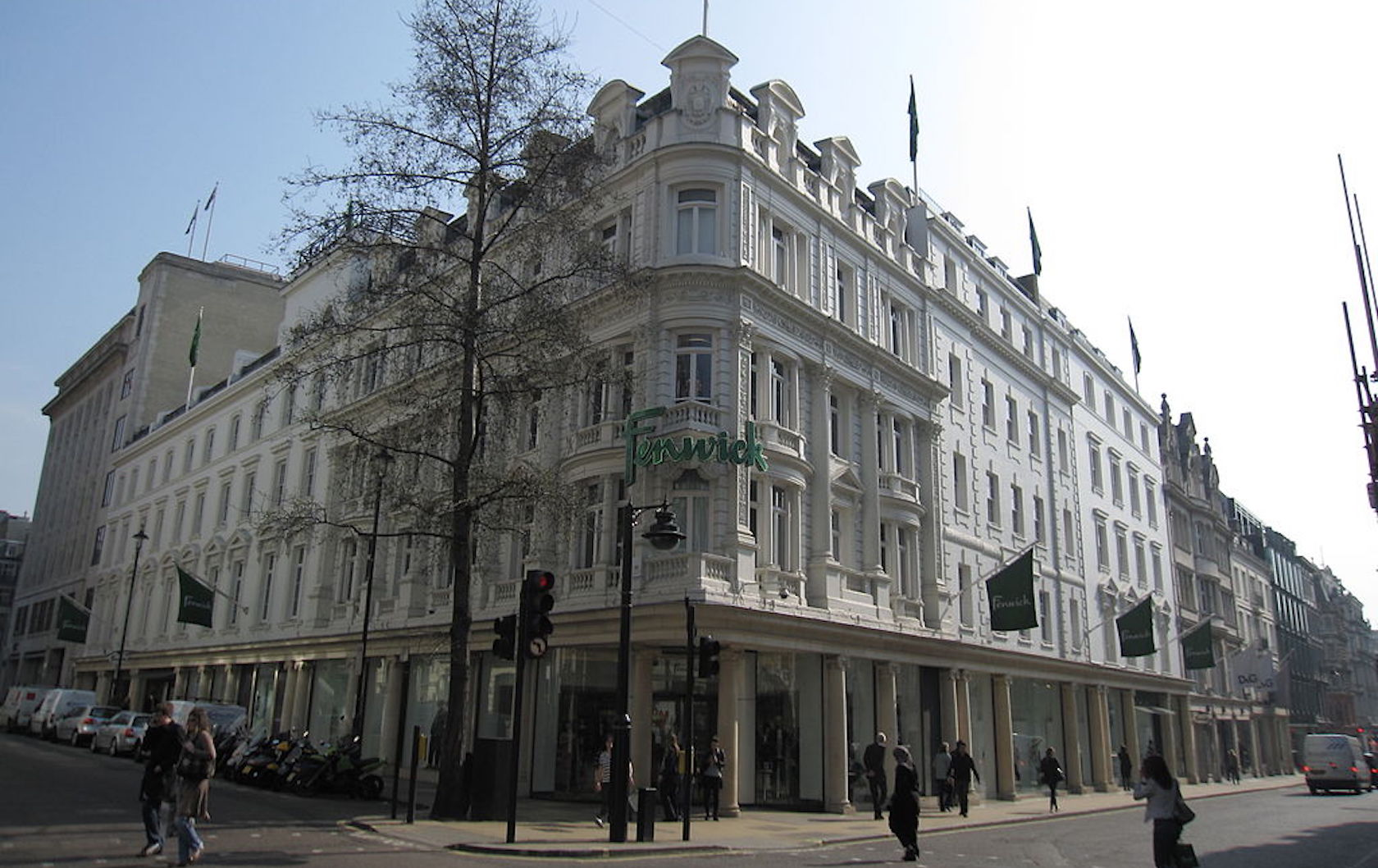 London department stores by London Perfect