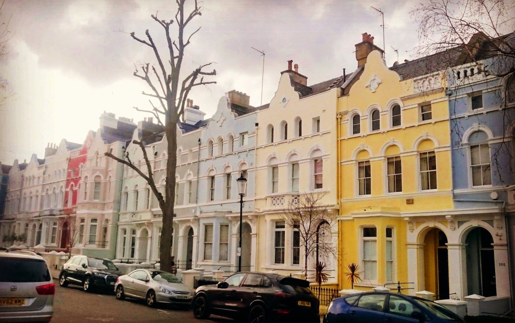 Notting Hill's Most Colorful Streets by London Perfect