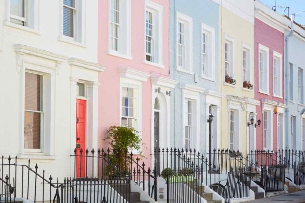Notting Hill's Most Colorful Streets
