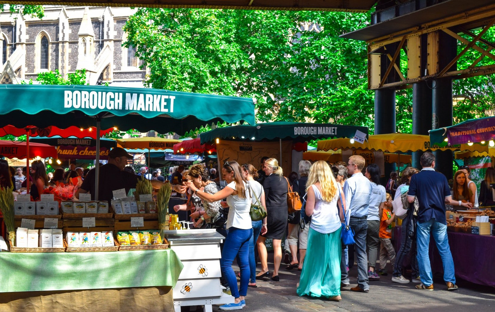 visiting Borough Market by London Perfect