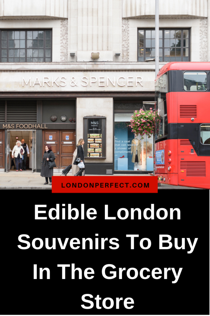 Edible London Souvenirs To Buy In The Grocery Store by London Perfect