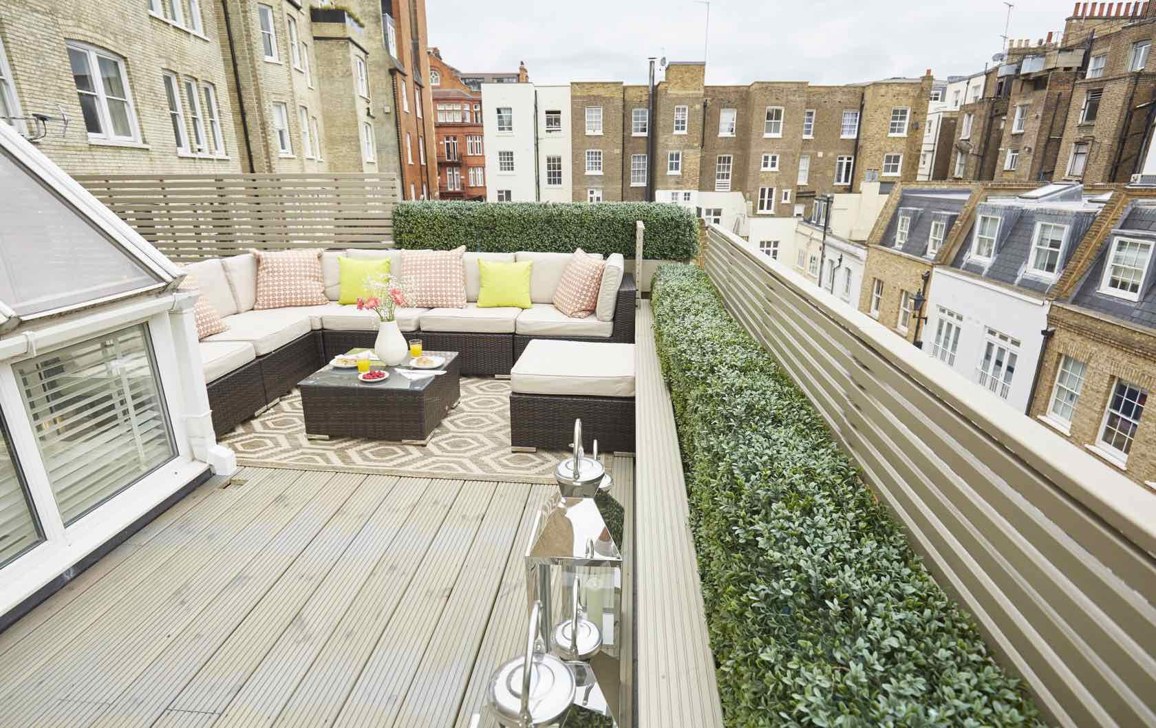Danebury Apartment Rooftop Notting Hill