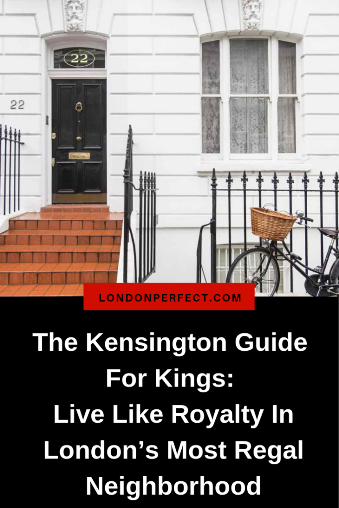 Kensington London Pinterest