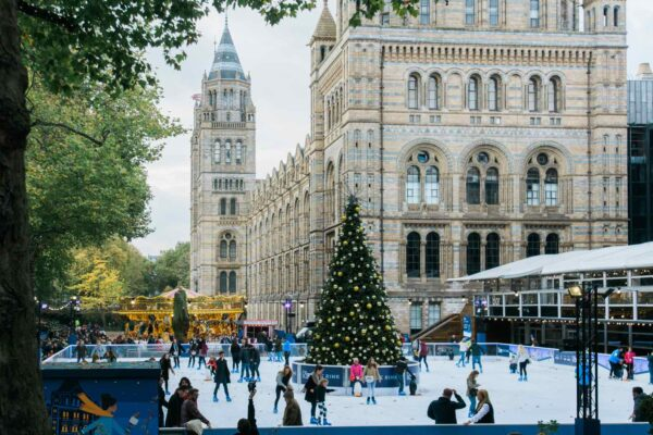 Natural History Museum London Ice Rink