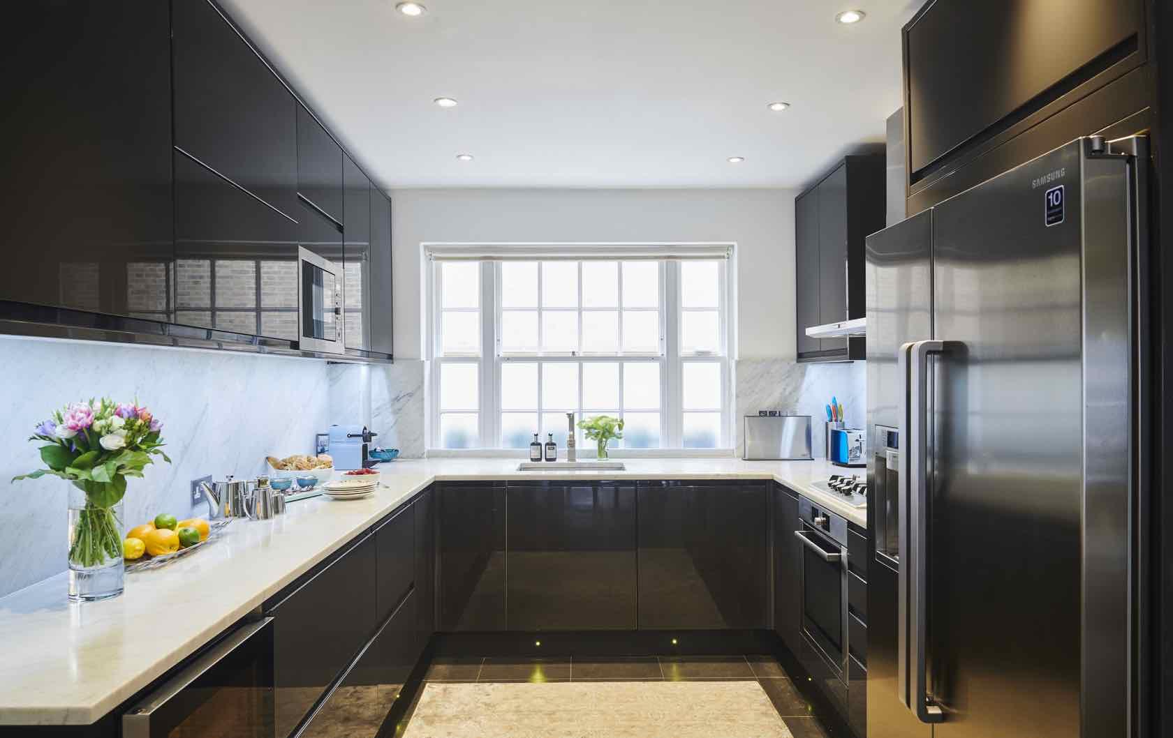 York House in Kensington Kitchen