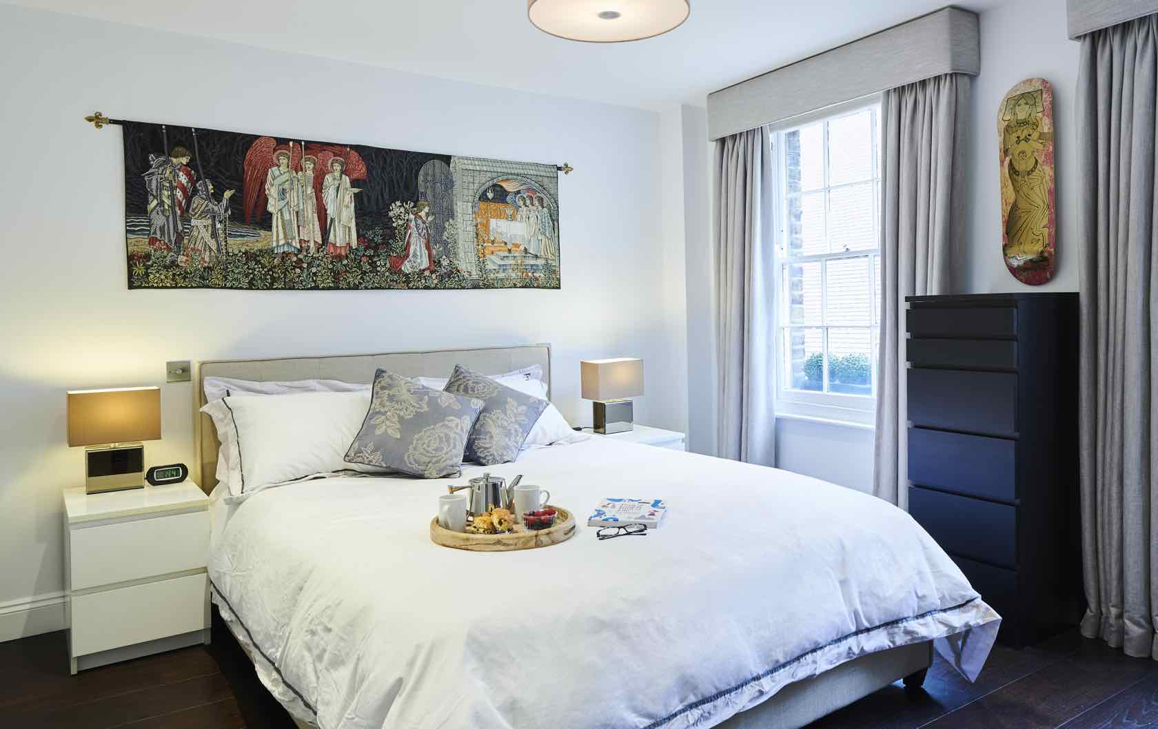 York House in Kensington bedroom
