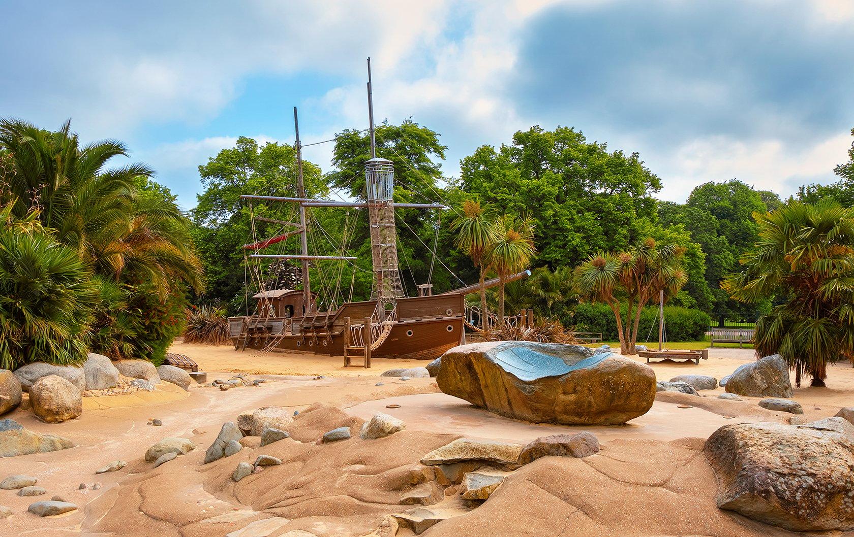 Pirate Ship at the Diana Memorial Playground