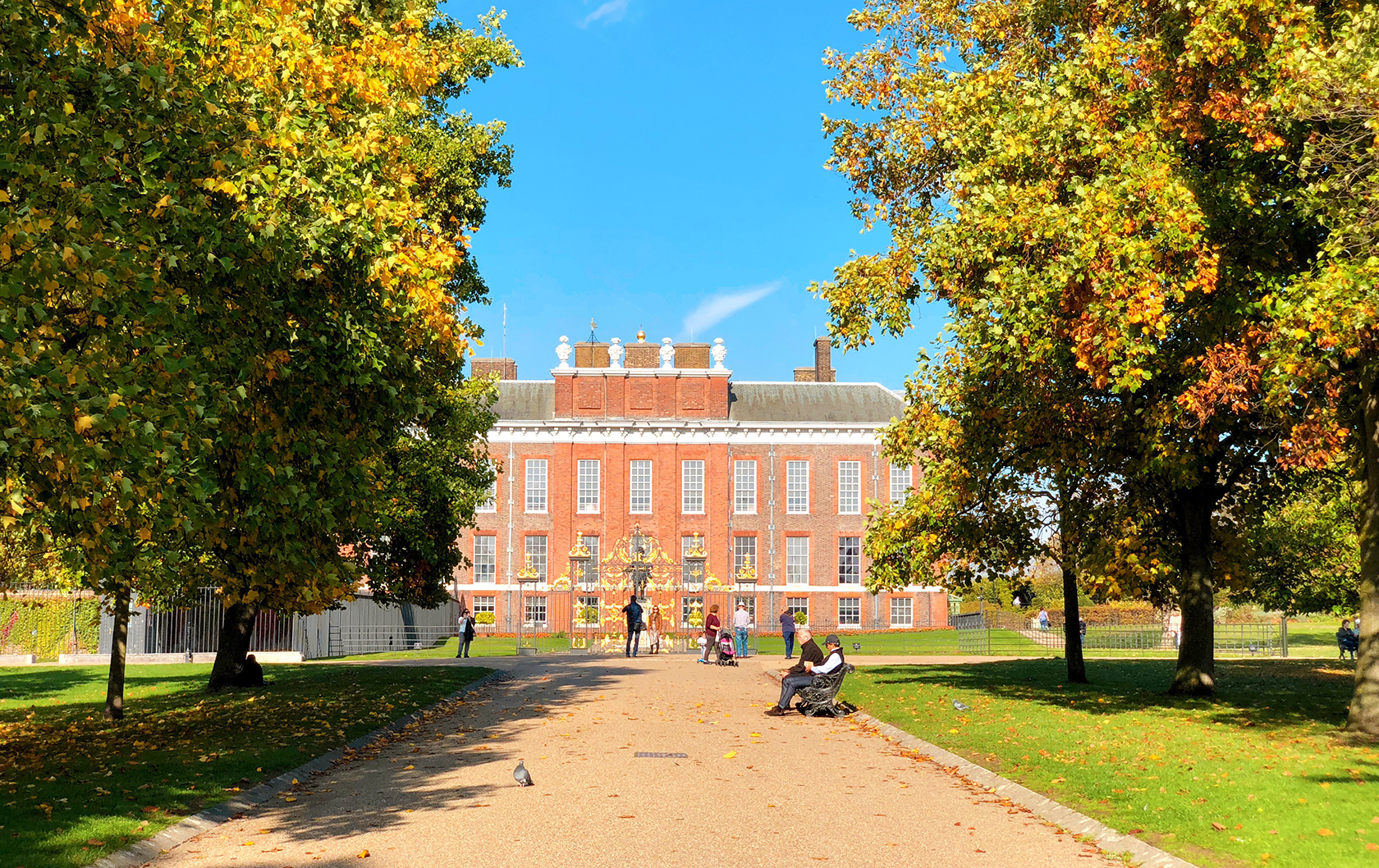 Autumn in Kensington Gardens
