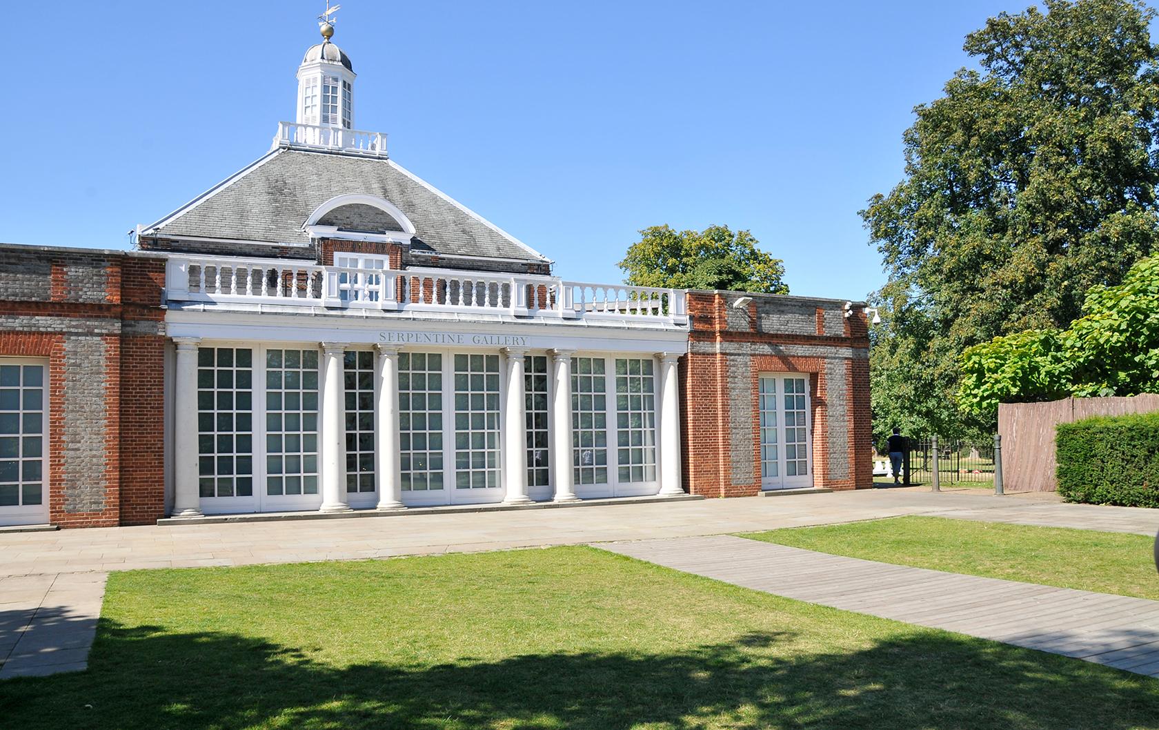 Serpentine Gallery in Kensington Gardens