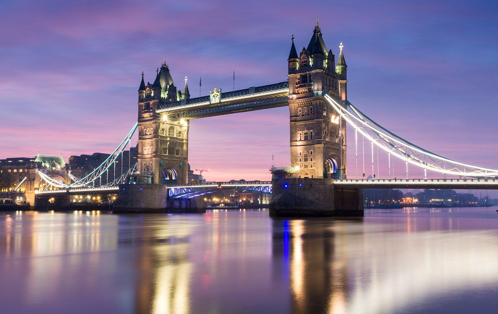 Tower Bridge in evening light