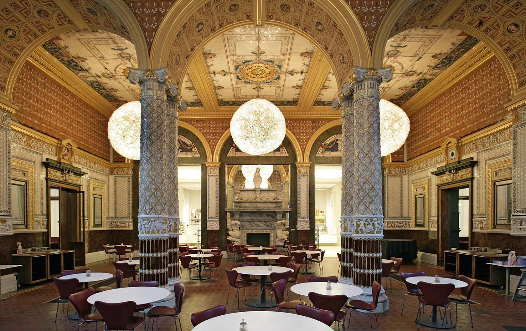 The Gamble Room at the V&A museum cafe