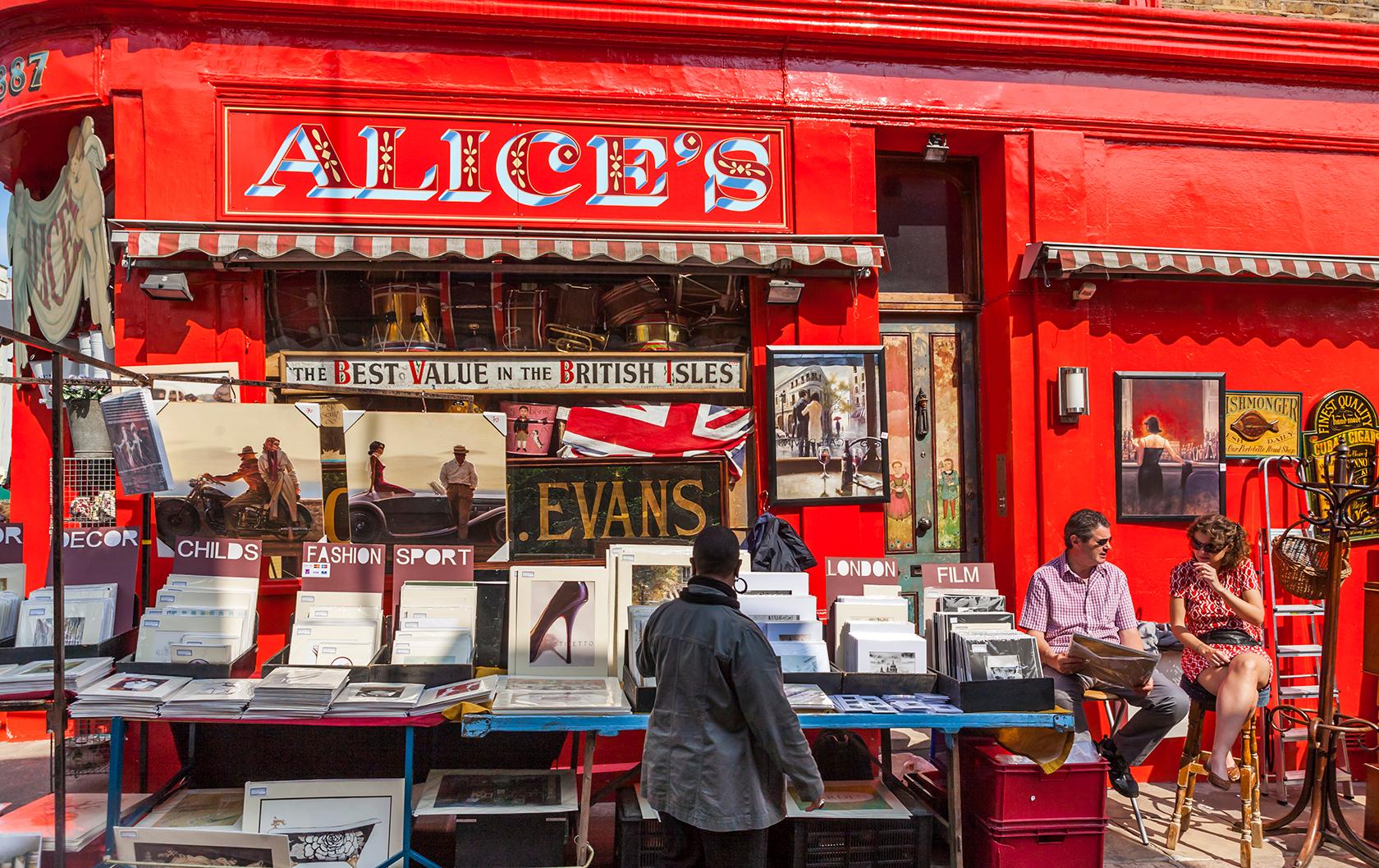 Alice's on Portobello Road