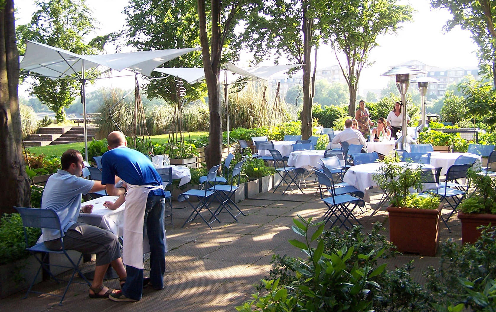 Top Terraces: Sun-kissed Outdoor Dining in London