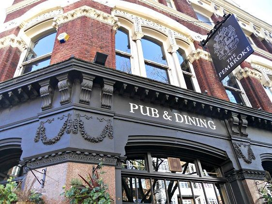 Walk to charming English pubs in the Chelsea neighborhood