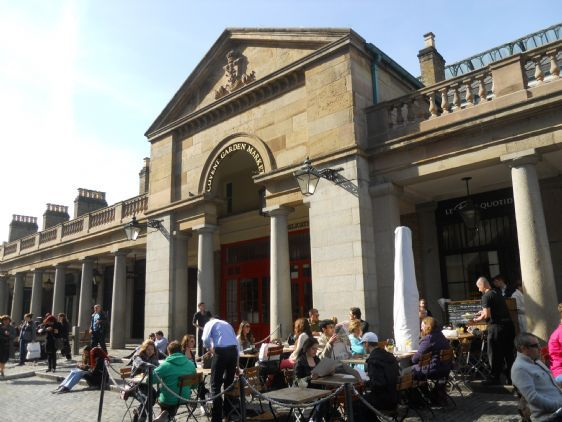 Enjoy shopping, outdoor dining and fun in Covent Garden