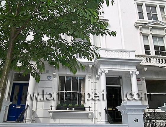 Beautiful White Stucco Homes In London