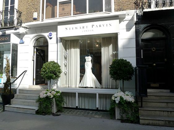 The latest in bridal fashions at Stewart Parvin