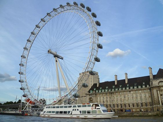 Enjoy a bird's-eye view from the London Eye