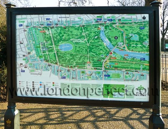 Kensington Gardens to Marble Arch