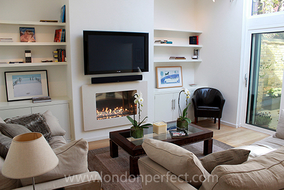 gallery for nice apartment living room