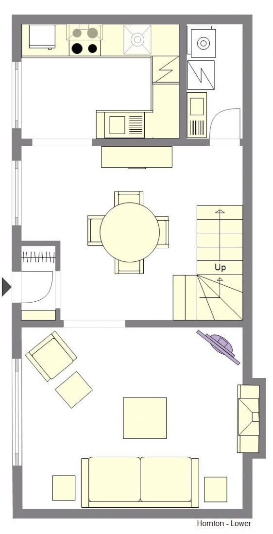 Hornton Floorplan - Lower