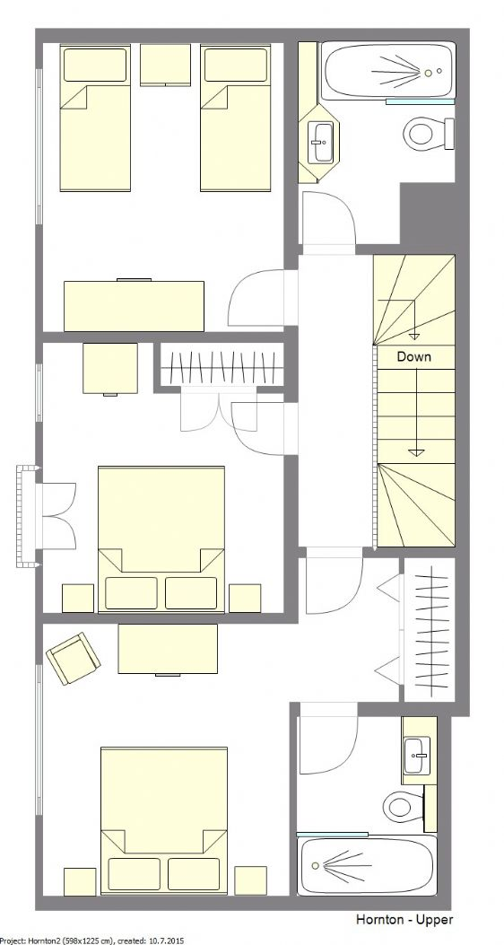 Hornton Floorplan - Upper