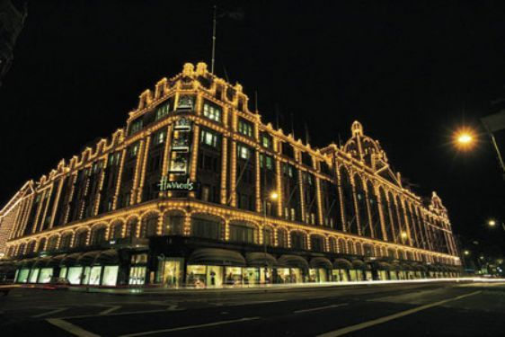 Shop at the famous Harrods department store in London