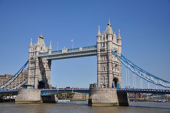 Walk across Tower Bridge for amazing London views