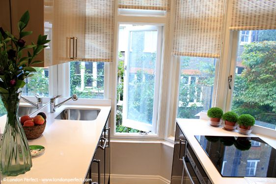 Fully-equipped London Apartment Rental Kitchen
