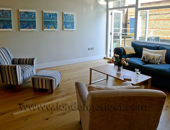 London Vacation Rental Living Room
