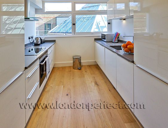 Fully Equipped London Vacation Rental Kitchen