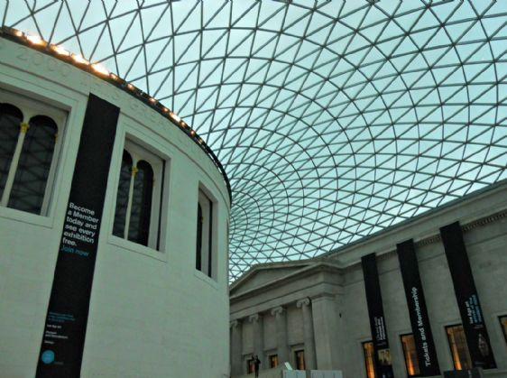 Visit the famous collection at the British Museum in London