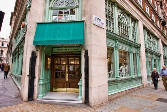 The fabulous Fortnum & Mason is near The Mayfair apartment