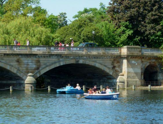 Enjoy exploring Kensington Gardens and Hyde Park