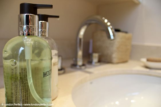 You'll love the Molton Brown toiletries in the bathroom!