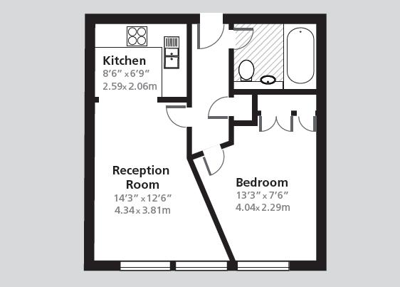 Calico House London Apartment Rental