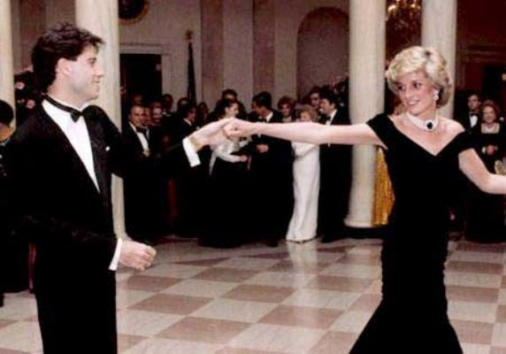 princess diana dress collection. Princess Diana and John