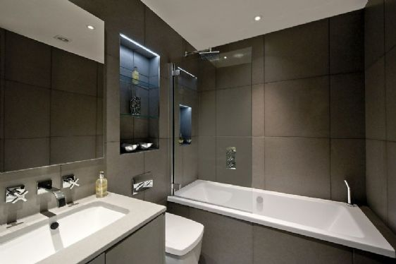 luxury apartments bathrooms home decor. Black Bedroom Furniture Sets. Home Design Ideas