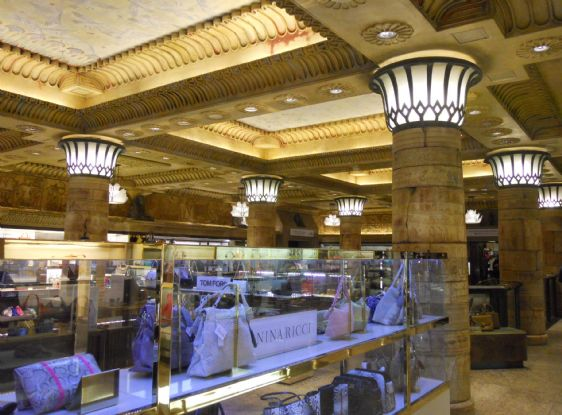 Seven floors of shopping heaven at Harrods in London