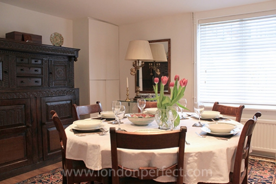 London Home For Rent With Terrace A C Internet Near Harrods