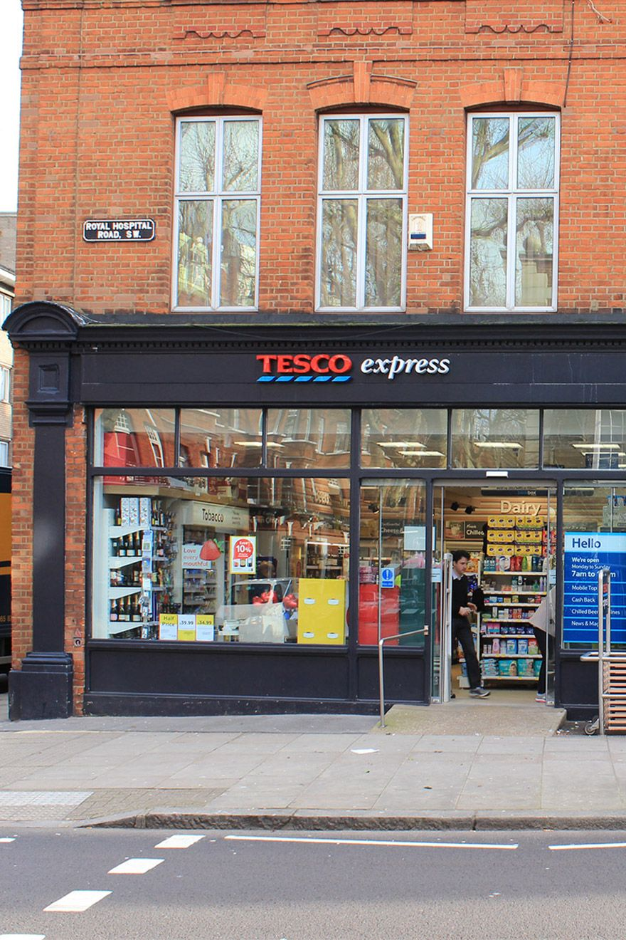 Convenience store in London