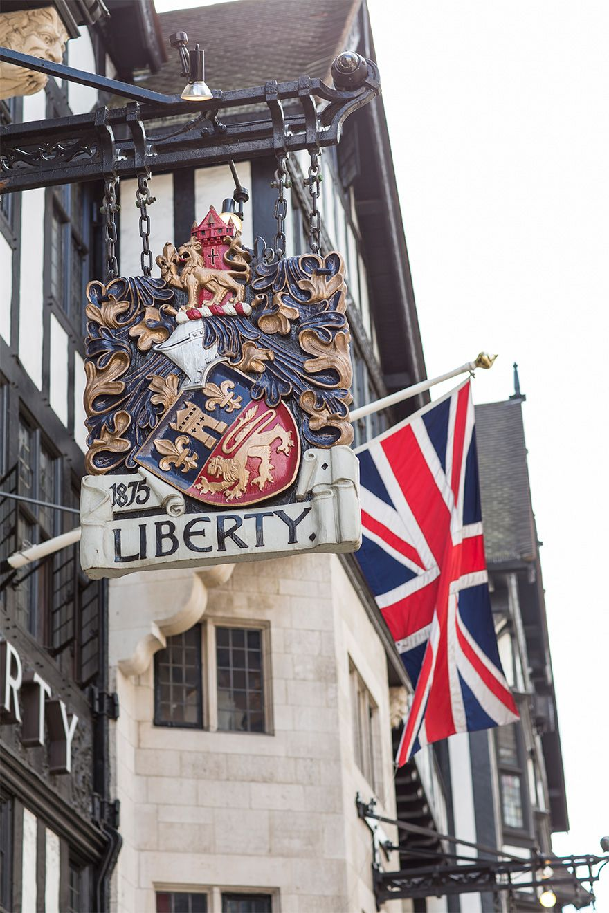 Historic Liberty Department store London