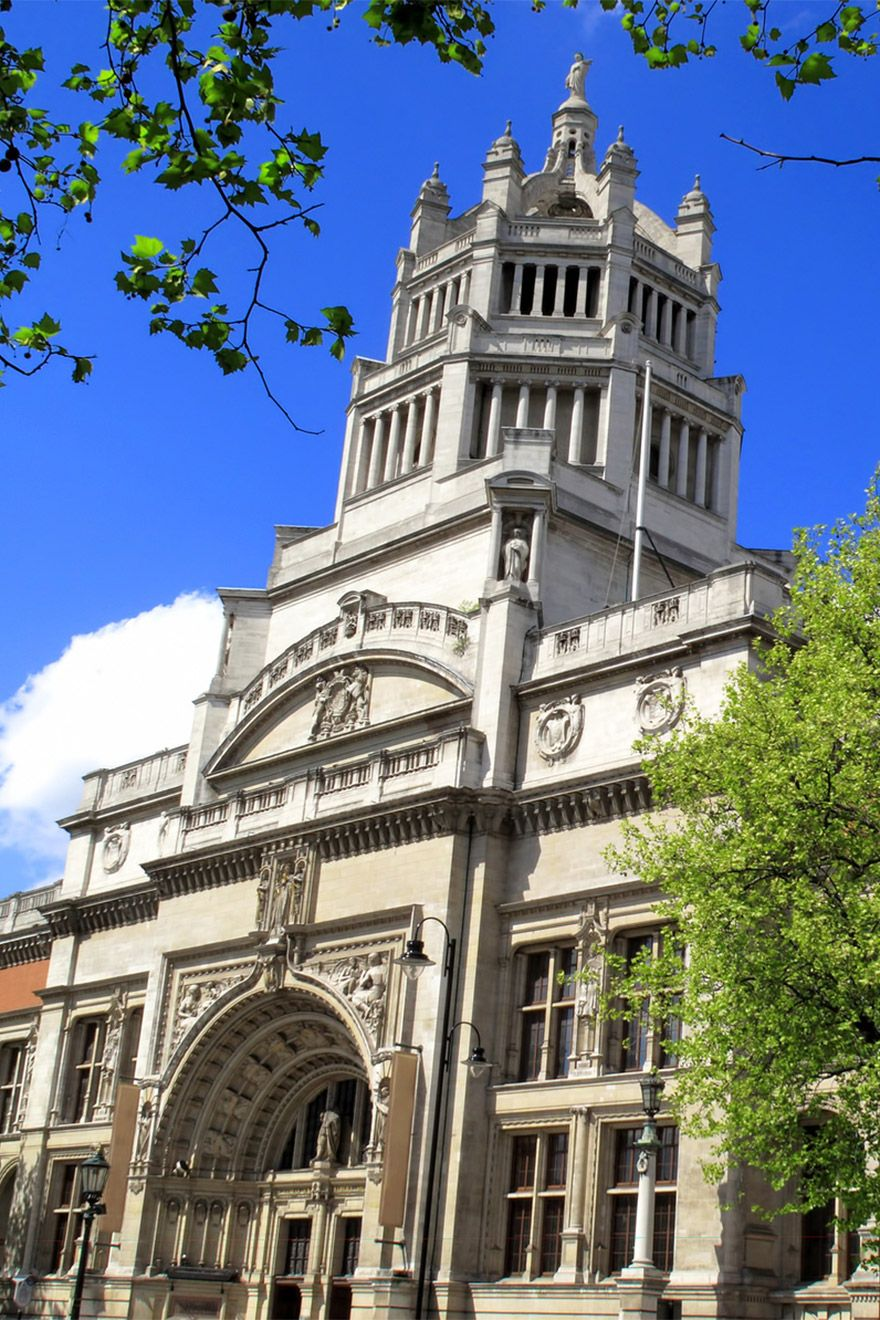 The Victoria and Albert Museum Exterior