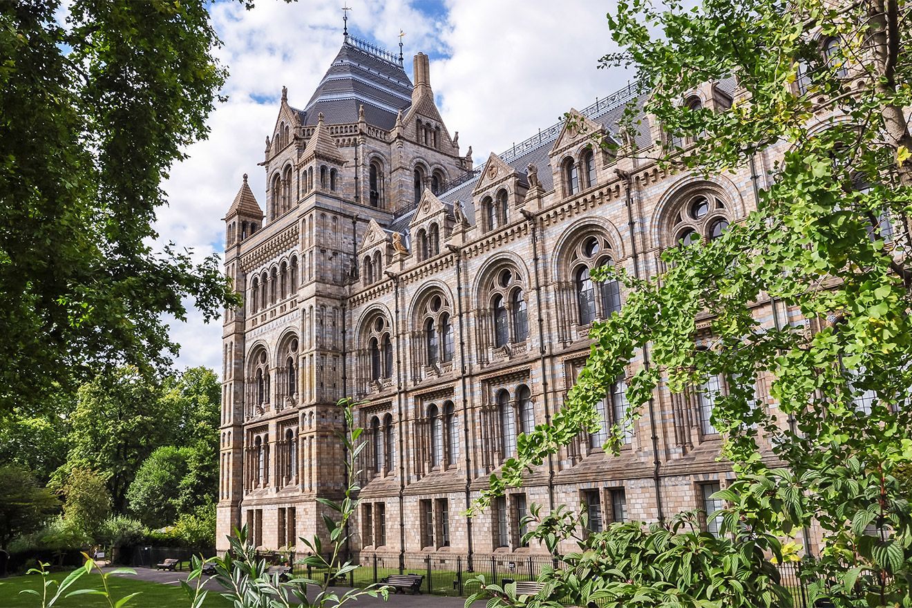 Explore the Natural History Museum which is just around the corner