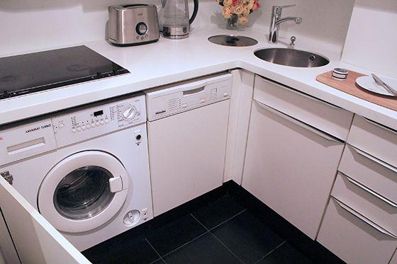 Attractive Under Counter Washer Dryer In Kitchen   Best Kitchen Ideas 2017