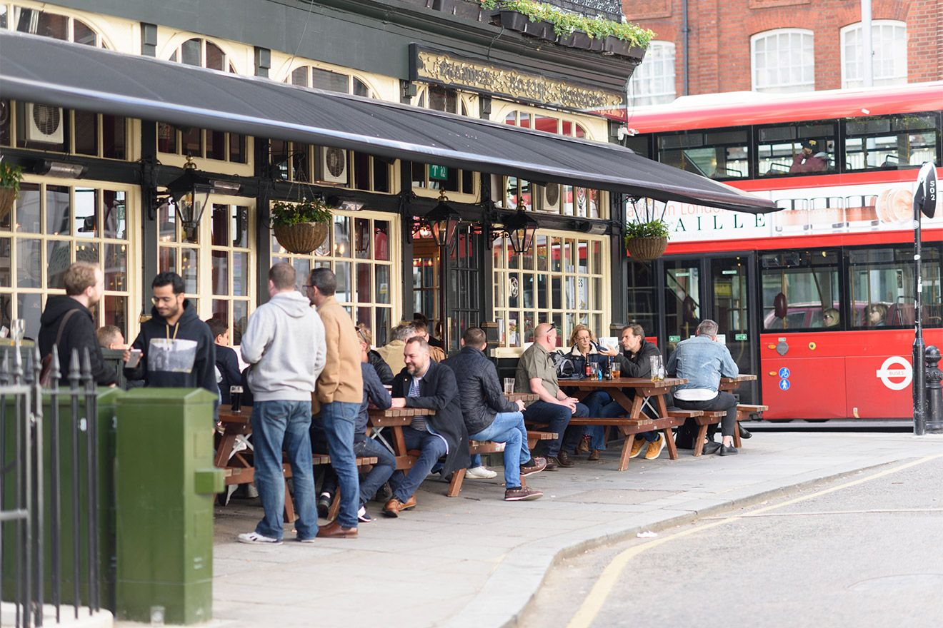 London's pubs will make you want for nothing