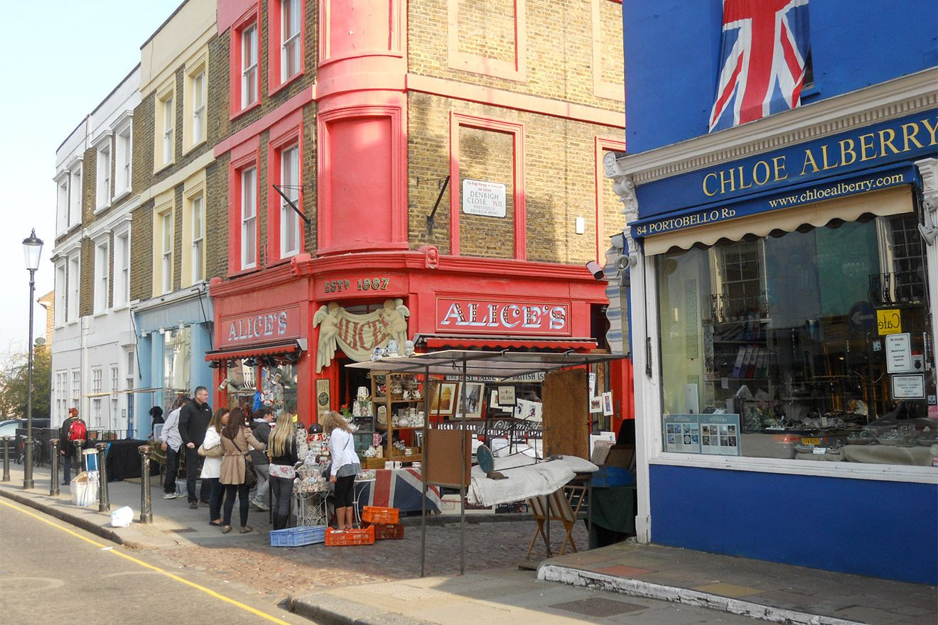 See the wonders of Alice's Antiques