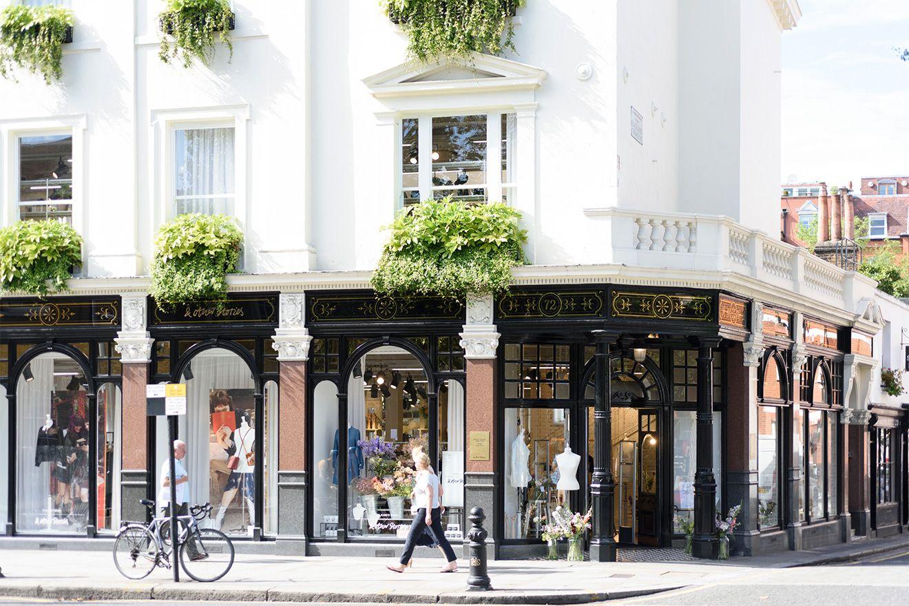Luxury shopping in the Chelsea neighborhood